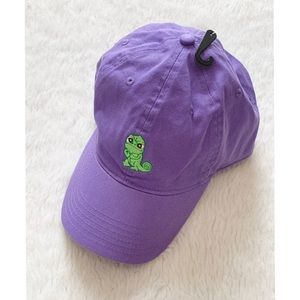 NWT Disney Tangled Pascal dad hat